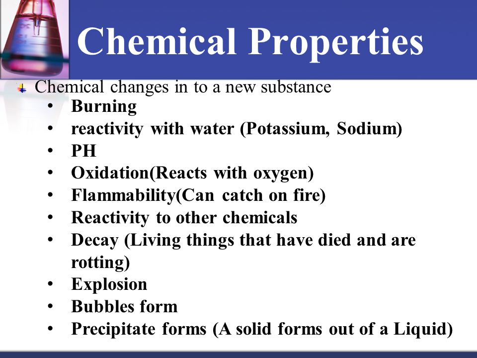 Chemical Properties of Potassium