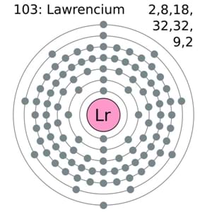 Lawrencium Number of Valence Electrons