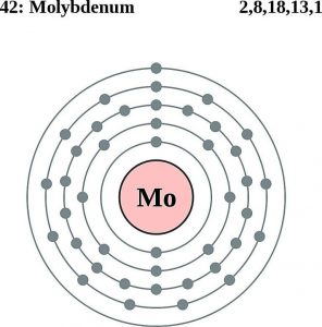 How Many Valence Electron Does Molybdenum Have?