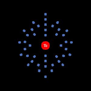 Technetium Valence Electrons Dot Diagram