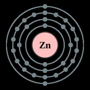 Zinc Valence Electrons Dot Diagram