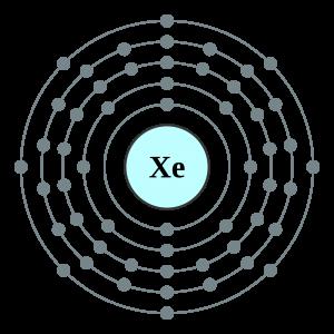 Xenon Valence Electrons